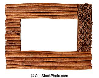 cinnamon frame