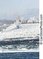 Frosted - Niagara Falls.  January.