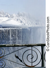 Mr. Frost 2 - Niagara Falls. View from canadian side on...
