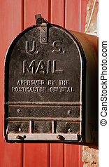 US Mailbox - Old style US mailbox
