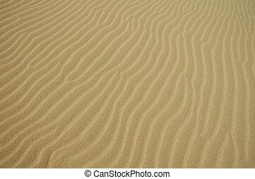 沙子, 結構