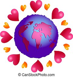love planet - love makes the world go around