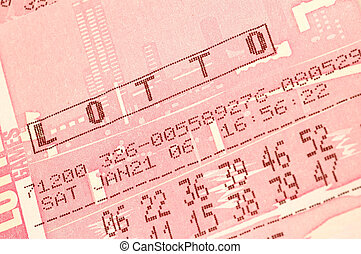 lotto - lottery ticket macro