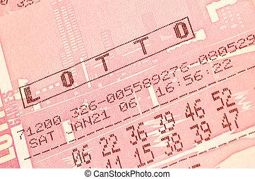 lotto - lottery ticket macro