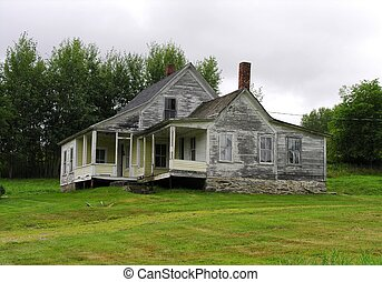 Old farm house in New England