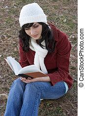 Girl Reading - Girl reading