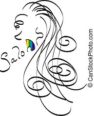 Hair Salon - Salon Logo