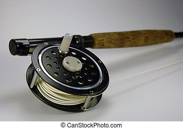 Fly fishing - Fly rod and reel