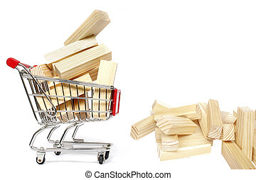Trolley and Blocks