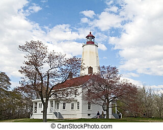 NJ Lighthouse - This is a shot of the Sandy Hook lighthouse...