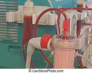 artificial kidney - dialysis equipment, artificial kidney...