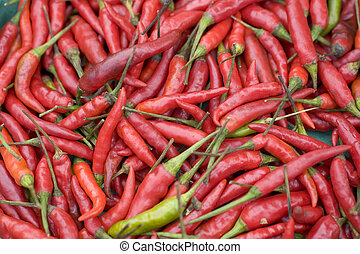 Red & Green Chillies