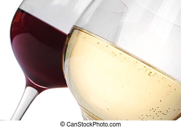 Wine Toast - Red wine and white wine toast