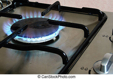 Turn Up The Gas - Gas stove