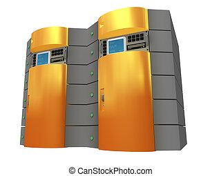 Organge 3d Server.