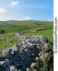 Malhamdale - malham national park at yorkshire england
