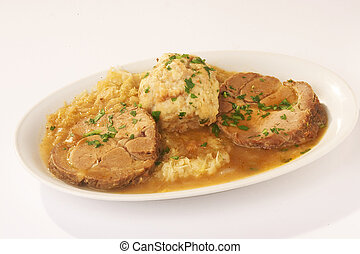 Roast with Sauce - Braten mit Sauce - Roast with Sauce on...