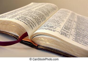 abertos, bíblia
