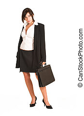 Business Woman #271 - Business woman dressed in a pencil...