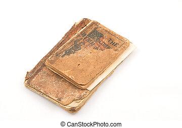 Civil War Hymn Book - Civil War Hymn book that belonged to a...