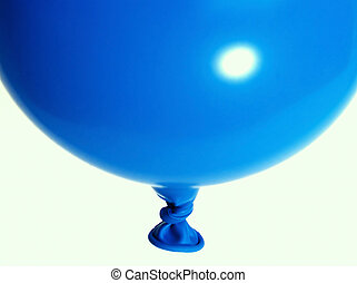 balloon - blue balloon