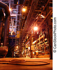 power plant - pipes