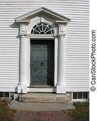 Old house door.