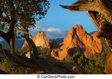 Garden of the Gods preserve. Colorado Springs, Colorado.