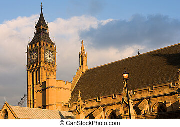 Bigben 11 - The buildings of the House of Parliament and...