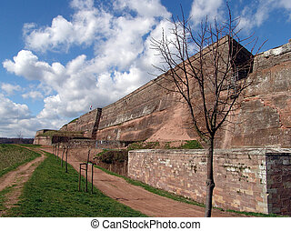 Bitche citadel II - Formidable military fortress in the...