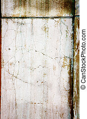 grunge wall texture - wall background with aged marks and...