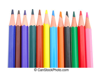 Colored Pencils in the line