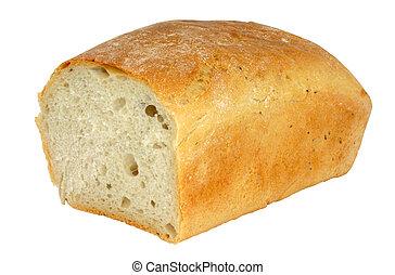 fresh tasty bread - isolated