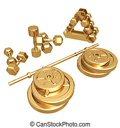 Gilded Weights 01 - Gilded Weights 3D