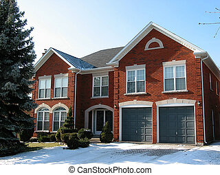 New luxury home - New luxury brick house