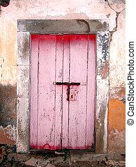old door - old latch