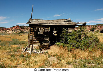 Old Shack - old shack in a ghost town in Southern Utah