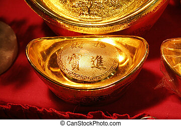 Chinese Gold ingot -  Chinese Gold ingot