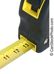 measuring tape on white #5 - pure white background