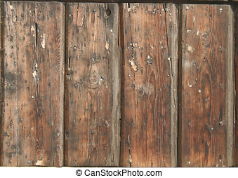 Door Texture - A Detail of old wood door