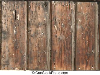 Door Texture - A Detail of old wood door