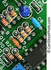 Circuit Board - Macro of circuit board