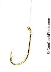 Hook - Photo of a Brass Fish Hook