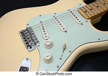 Electric Guitar Closeup 1