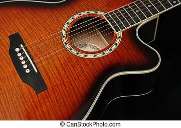 Guitar Closeup 3 - Closeup for guitar 3