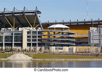 Football Stadium - Heinz Field in Pittsburgh