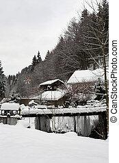 #13, neve, paesaggio