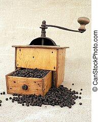 pepper grinder - old pepper grinder