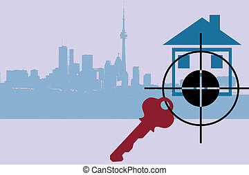 Real Estate 2 - targeting a house