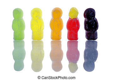 Jelly Bean Wierdo - One jelly bean is different